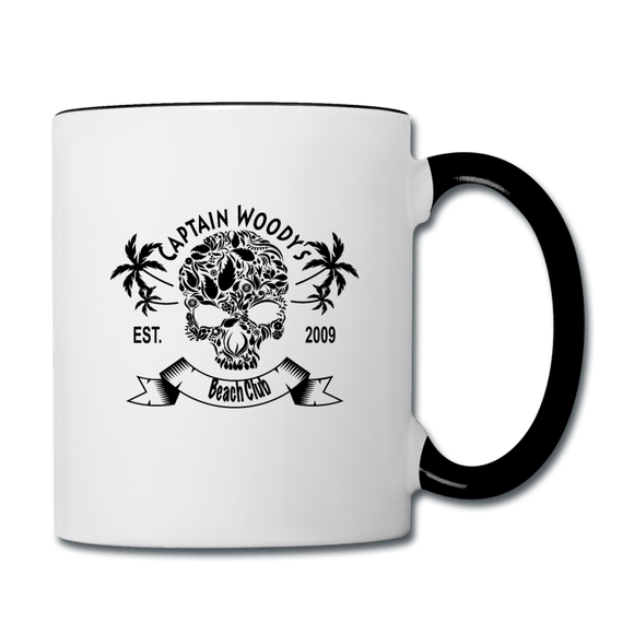 Captain Woody's Tropical Skull Pirate Coffee Mug - Captain Woody's Locker