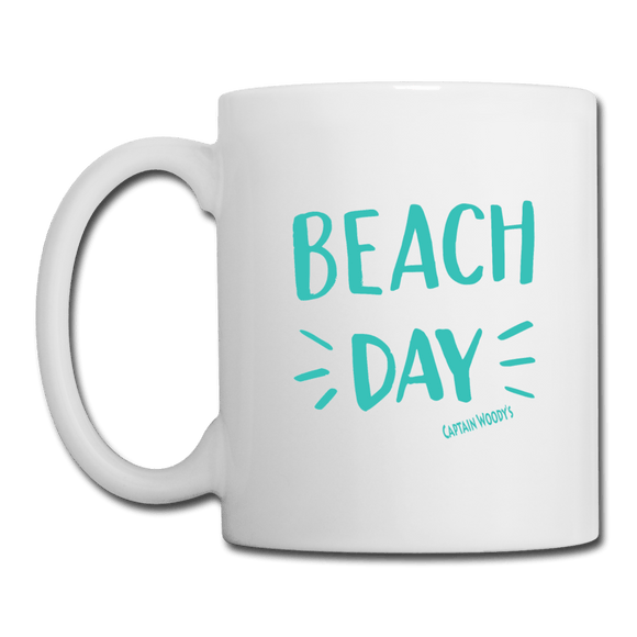 Sea Green Beach Day Coffee Mug - Captain Woody's Locker