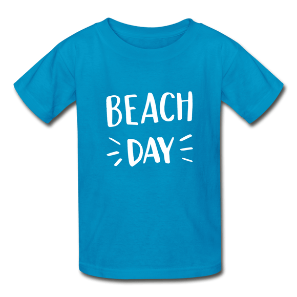 Kids Beach Day T-Shirt - Captain Woody's Locker