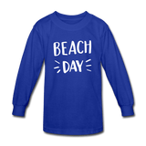 Kids'  Beach Day Long Sleeve T-Shirt - Captain Woody's Locker