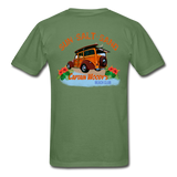 Vintage Woody Wagon Surfer T-Shirt - Captain Woody's Locker
