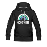 Good Vibes Women's Premium Hoodie - Captain Woody's Locker