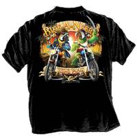 Pirate Parrot Choppers - Goin Coastal Vintage T-Shirt - Captain Woody's Locker