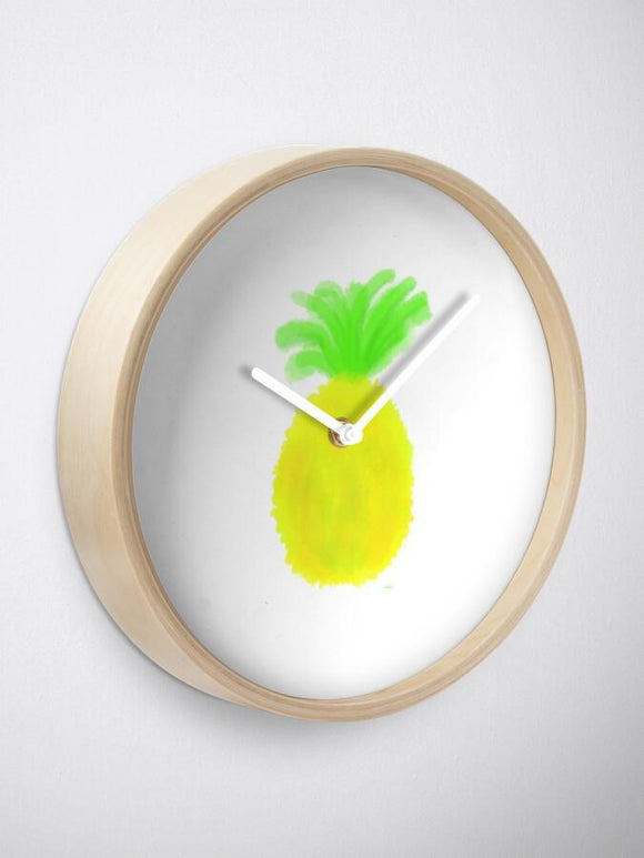Cosmic Pineapple Wall Clock - Captain Woody's Locker