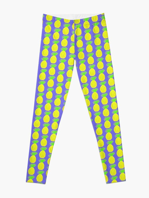 Cosmic Pineapple Leggings - Captain Woody's Locker