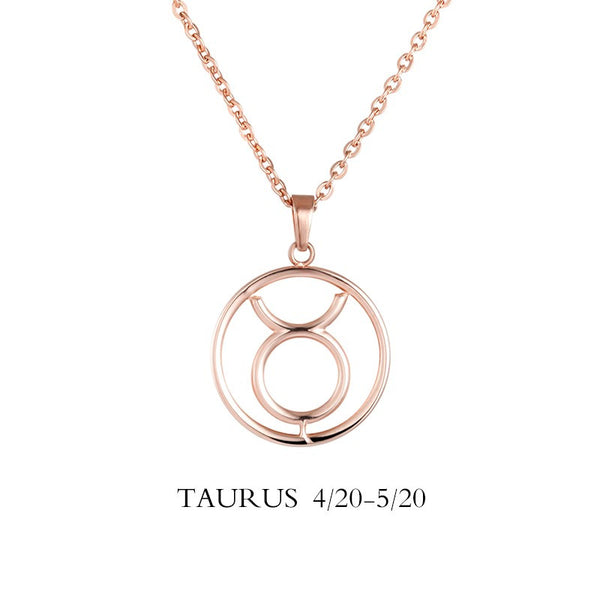 Taurus Sign Necklace