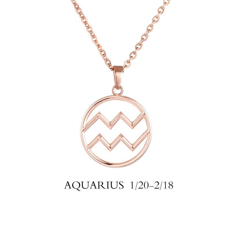 simple products seen more necklace magazine zodiac aquarius in real constellation people as