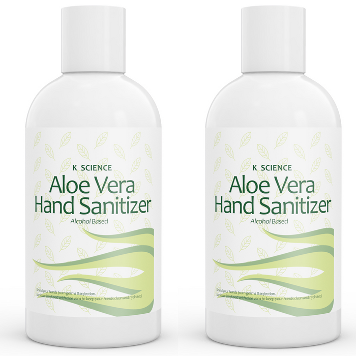 Travel Size Hand Sanitizer Alcohol Based 2 pack of 2oz