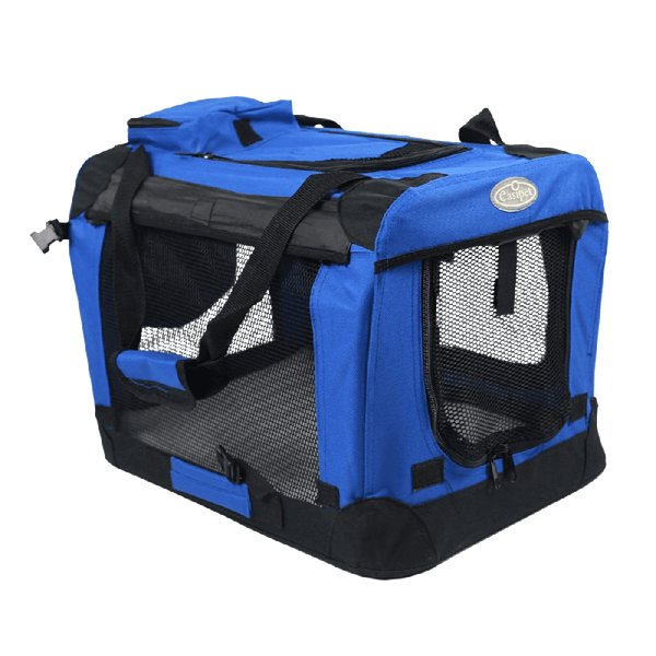 Easipet Fabric Pet Carrier, Medium, Blue