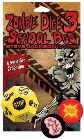 Zombie Dice 3: School Bus Expansion