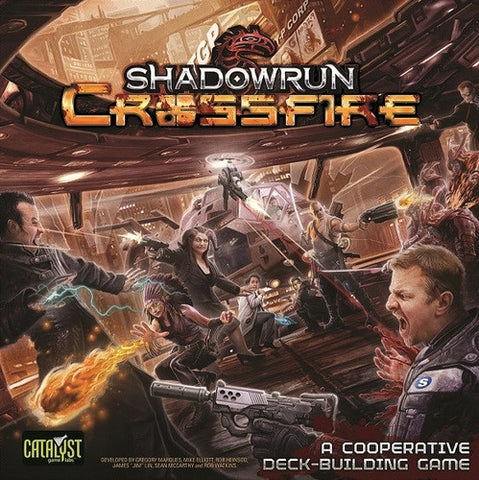 Shadowrun Crossfire: Base Game
