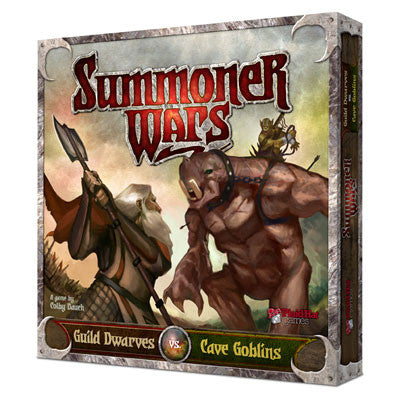 Summoner Wars: Guild Dwarves vs Cave Goblins