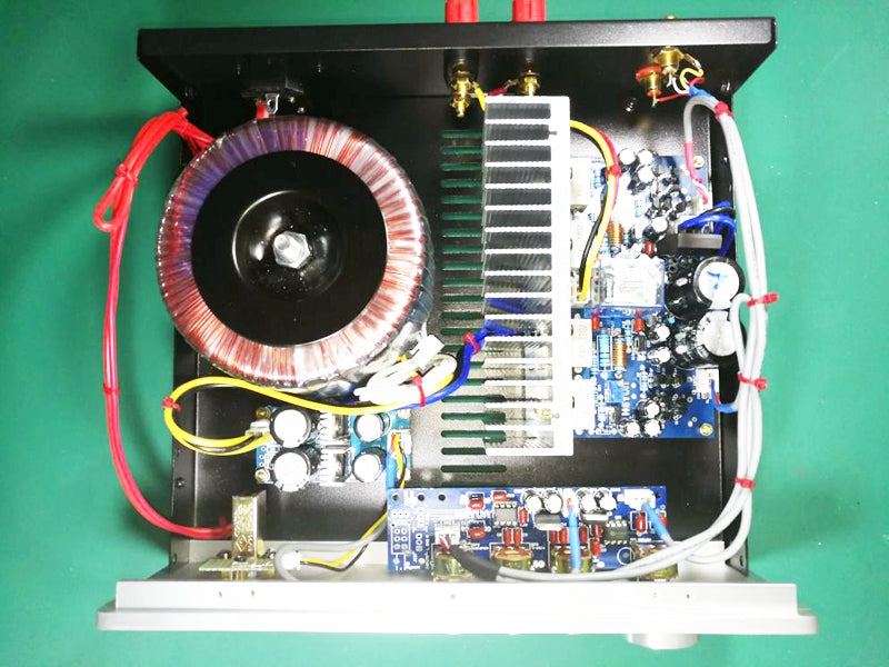 Power Amplifier with IWISTAO Toroidal Transformer Wire Dual 18V and Dual 24V