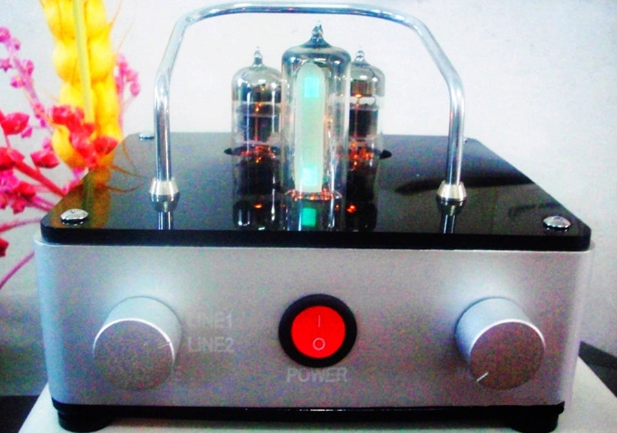 A HIFI tube Bluetooth Audio With 6N1 preamplifier