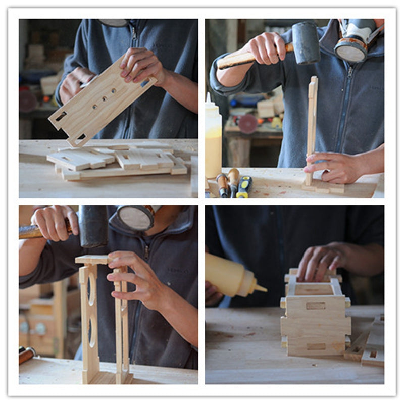 Photo 1-- How to make the solid wood Bluetooth Speaker by manual
