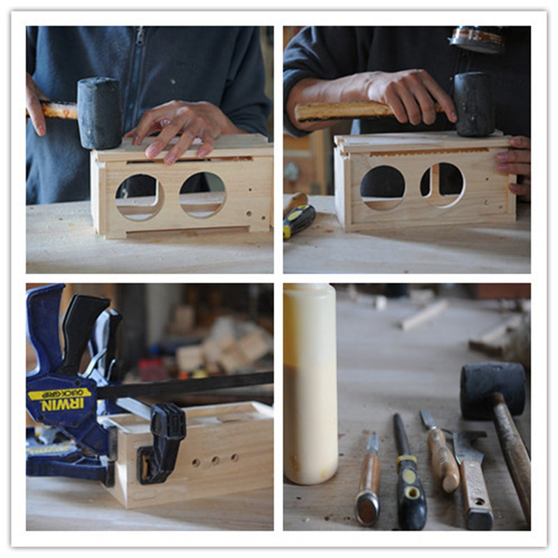 Photo 2-- How to make the solid wood Bluetooth Speaker by manual