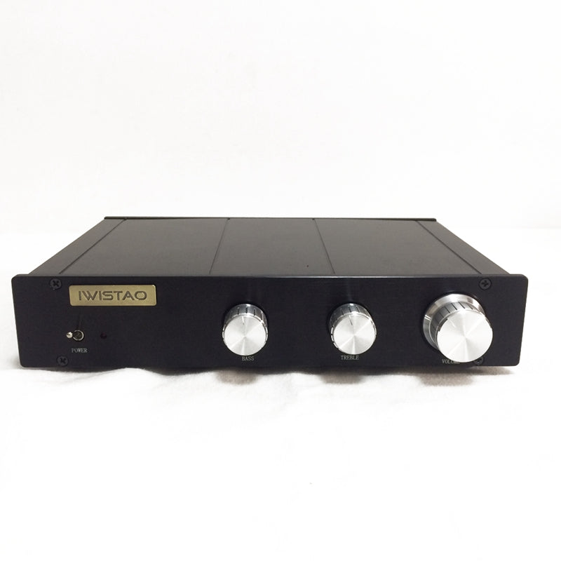 IWISTAO Electronical 2 Way Crossover Preamplifier HIFI Linkwitz-Riley filter 4-Channel Output Crossover-point 2.2K Hz Customized Crossover Point