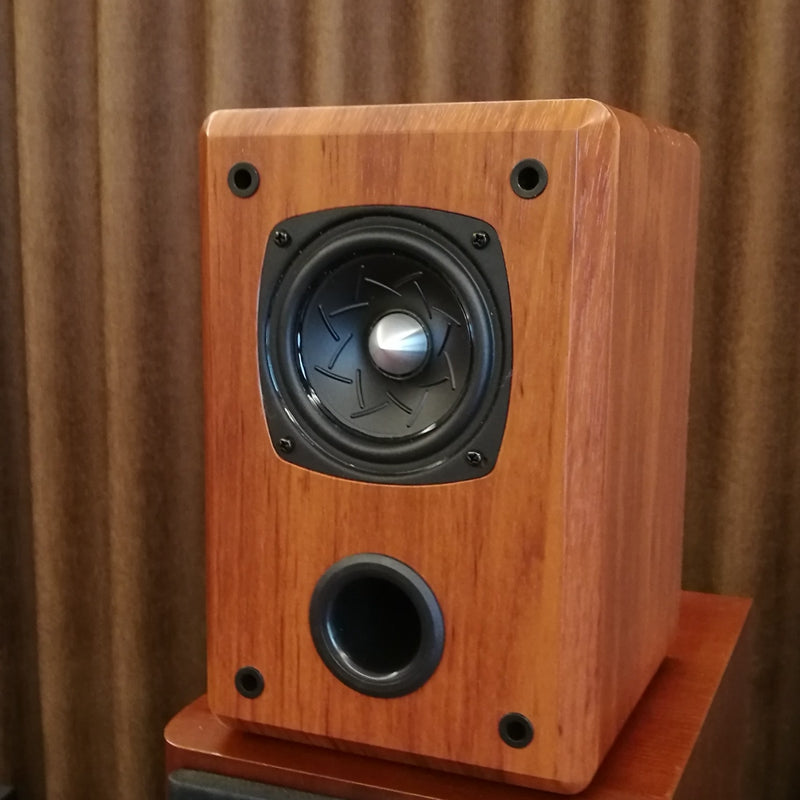 IWISTAO 4 Inch Full Range Speaker Empty Cabinet Passive Speaker Enclosure Wood 15mm High Density MDF Board Volume 7.2L DIY3