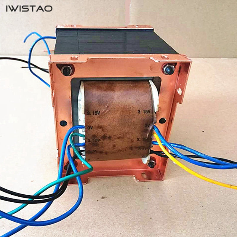 350W Power Transformer 300B single-ended Class A Tube Amp Red Bull Notched  Core 420 3 15 5 7 7 5V