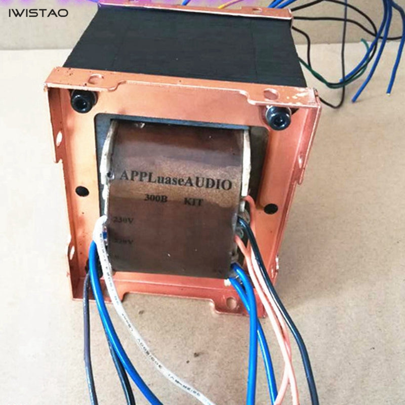 IWISTAO 350W Power Transformer 300B single-ended Tube Amplifier Red Bull Notched Core 420V, 3.15V, 5V,7V,7.5V