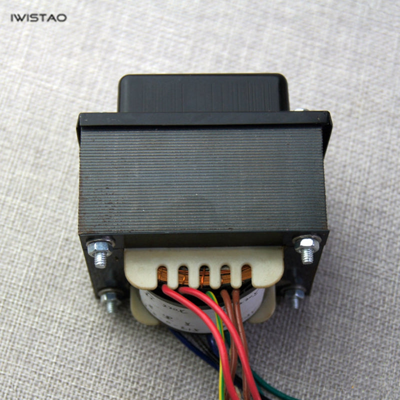 IWISTAO 70W Tube Amplifier Power Transformer Z11 Annealed Silicon Steel 250V-0-250V/100MA 6.3V/ 2A EI Transformers