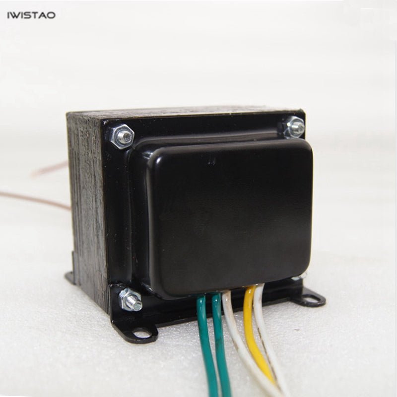 IWISTAO 70W Tube Amp Power Transformer Z11 Annealed Silicon Steel 250V-0-250V/100MA 6.3V/ 2A EI Transformers Audio HIFI