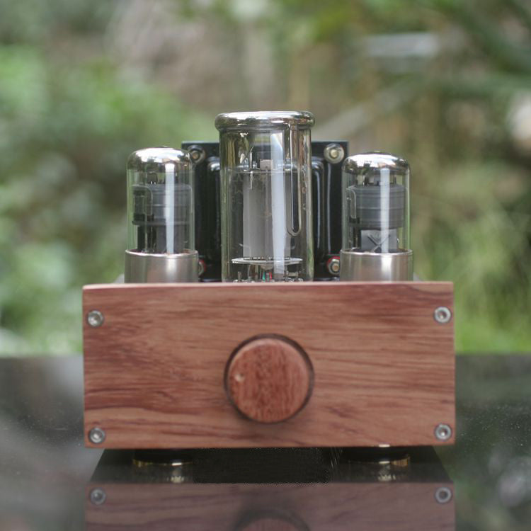IWISTAO 1pc Mono Tube Amplifier FU50 Power Stage Class A Signal-ended Small 300B 12W Preamplifier 2 x 6J4P HIFI Audio