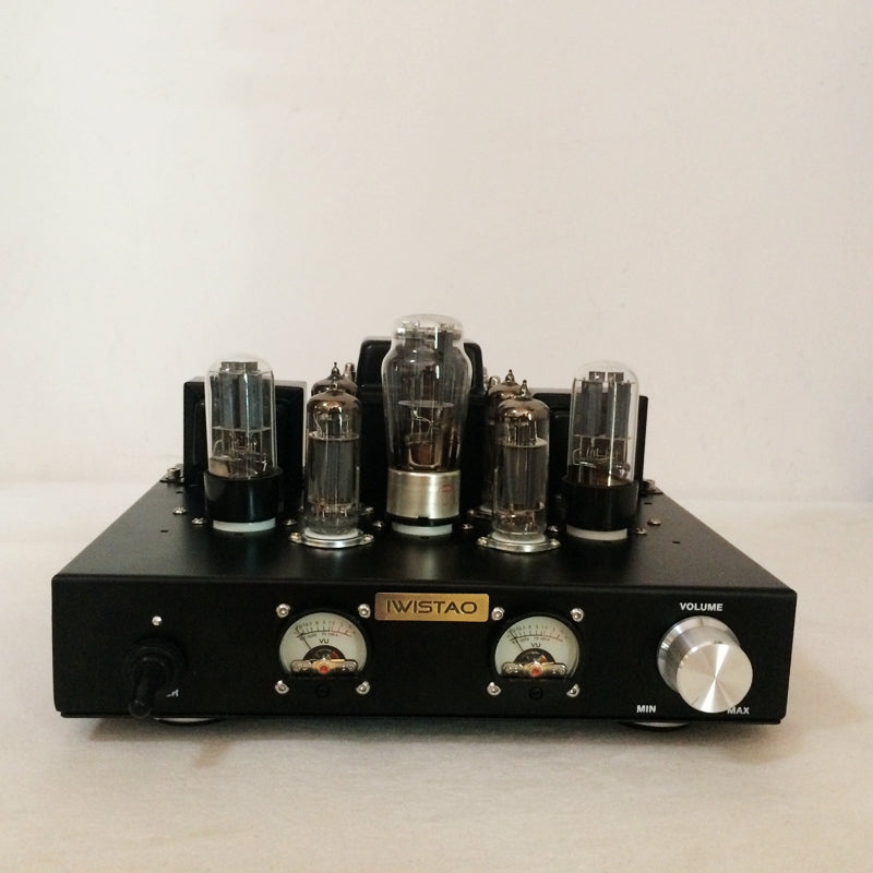 WISTAO Tube Amplifier Single-ended Class A 6P1 Parallel Power Stage 2x6.8W Natural Sweet