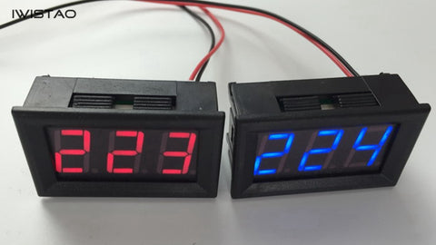 1 Piece  AC 220V Digital Voltage Display for Power Strip WWC-STPS-10 DIY