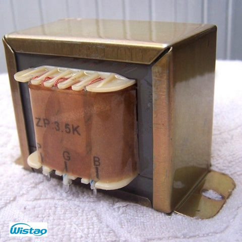 IWISTAO 10W Tube Amplifier Output Transformer Z11 Single-ended for Tube 6P14 EL34 EL84 6P3P KT88