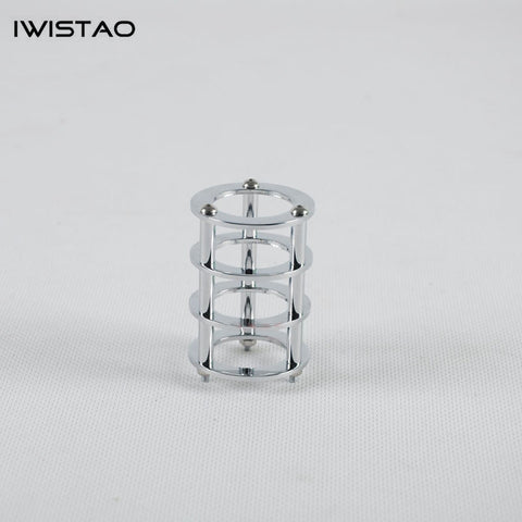 IWISTAO 1pc Tube Shield Silver-plated Copper for Tubes of EL84 6P14 DIY for your HIFI Tube Amplifier