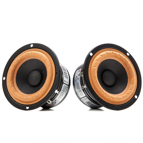 3 Inch HIFI Full Range Speaker Unit Rated Power 12W for 2.1 Satellites Full-range 2.0 1 Pair