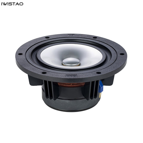 Mark HIFI 8 Inch Full Range Speaker Unit 1 Pair Metal Cone 8 Ohms 40-70W 90dB 30Hz-22KHz