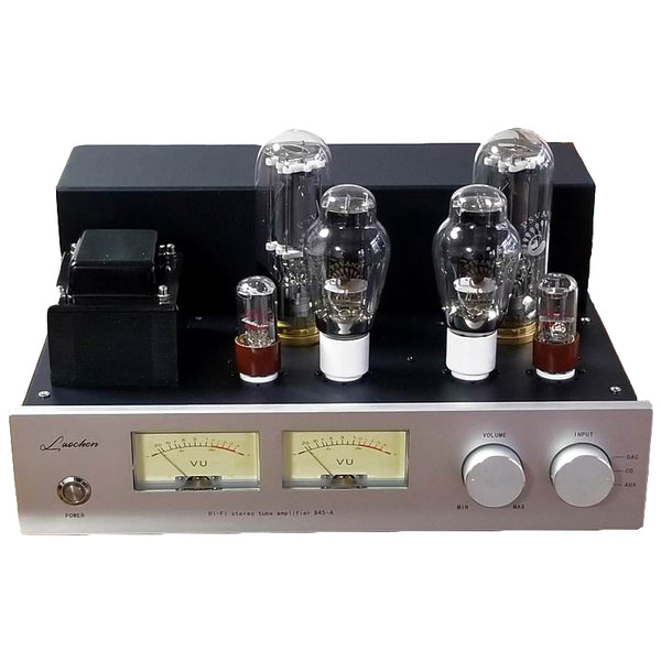 2x25W 845 Vacuum Tube Amplifier 300B Drive 845 Single-end Class A 6SN7 Preamp Scaffolding