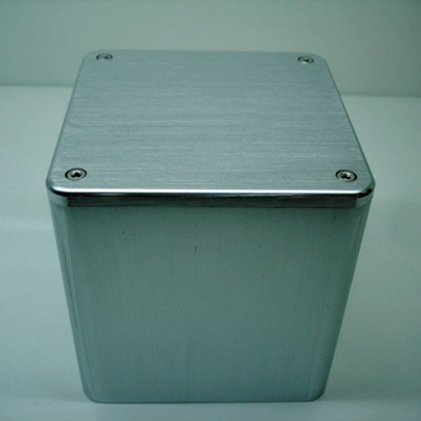 IWISTAO 1 pc Output Transformer Cover 110X110X116 Brushed Whole Aluminum Covers for Tube Amp