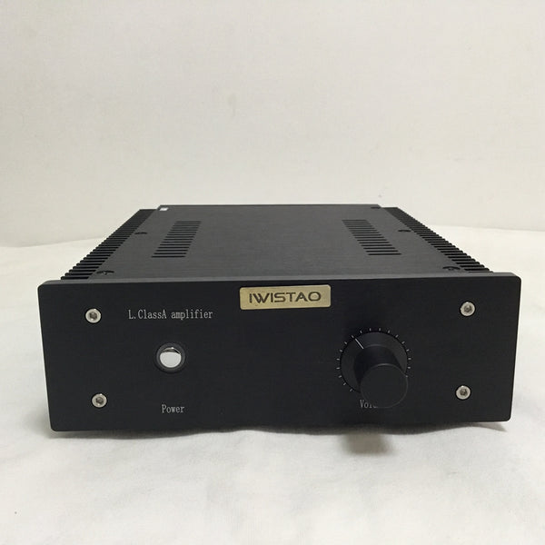 IWISTAO HIFI Power Amplifier 2 x16W Class A FET Single-ended PassAm Whole Aluminum Casing