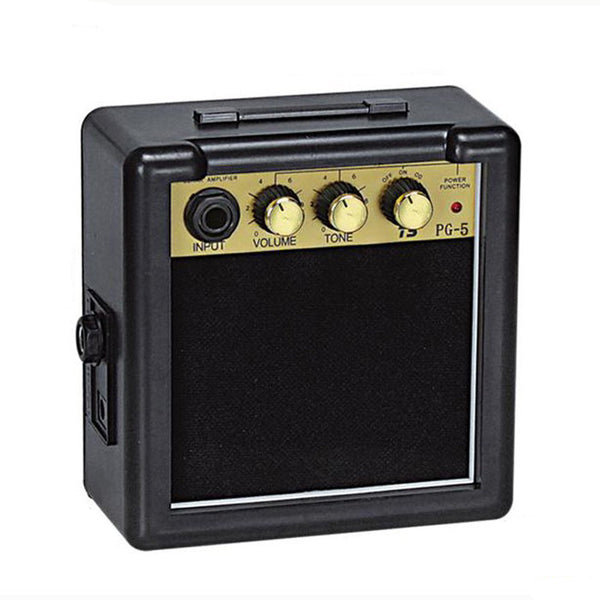 5W Digital Acoustic Portable Mini Guitar Amplifier Speaker 3.5 Inches No Including 9V Battery