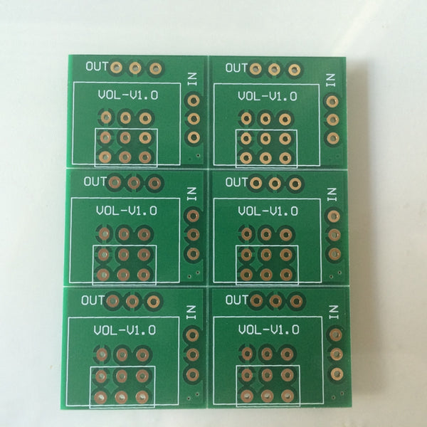Double shielded Potentiometer PCB for ALPS27 6pcs/Lot and 16 Type 100K 50K 10K HIFI DIY