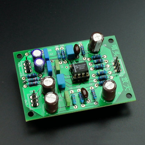 MM Phono Amplifier Board No Including OP IC Turntable Phono Amp OPA2604 YBA Attenuated RIAA