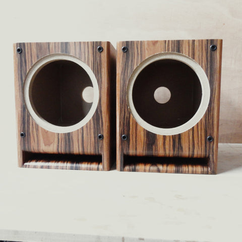 IWISTAO HIFI 6.5 inch Full Range Speaker Empty Cabinet Wooden Labyrinth Guide 15mm MDF Board