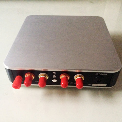 MM/MC Phono Amplifier Stage Vinyl LP Amplifiers Attenuated RIAA Circuit Aluminum Casing 230V