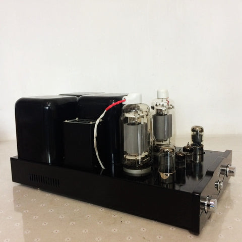 Tube Amplifier 2X50W Dual Mono-block Integrated Tube Rectifier 12AT7 & 6N8P Driving amplifier FU13x2
