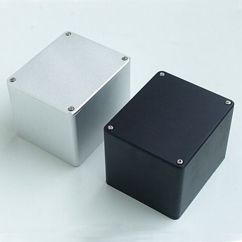 IWISTAO 1pc Transformer Cover 130X100X99 Brushed Whole Aluminum Cover for Tube Amplifier