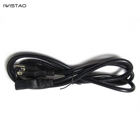 American Standard AC power cord 1.5mm Square Black