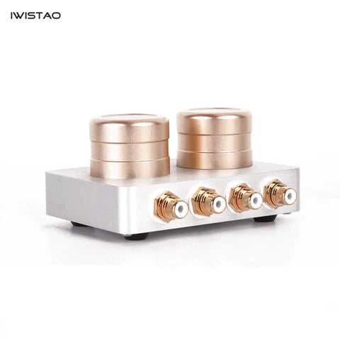 Passive Preamplifier  Audio Signal Boosting Transformer for Smartphone PC CD Player MC Phono Sound Quality Enhancer HIFI
