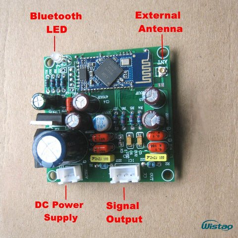 IWISTAO CSRA64215 Bluetooth Decoding Board PCM5102A Hardware Decoding Support APT-X