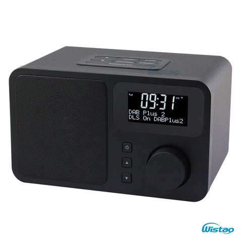 DAB+FM Digital Radio Bluetooth Speaker Snooze & Alarm Clock LCD Display 3W RMS