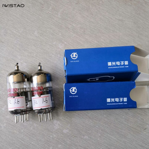 ECC83 Vacuum Tube Shuguang1 Pair Replace 12AX7 6N4 New High Reliability Precise HIFI Audio