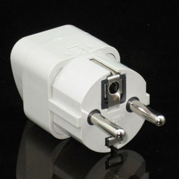 EU Adapter 5 pcs Convert Universal AC Power Travel Adapter Transfer Plug 2 Round Pins 250V/10A