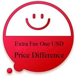 The link of USD 1 for price difference as extra fee
